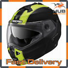 Caberg Duke II Legend Flip Up/Front Motorcycle Motorbike Helmet - Matt Black/...