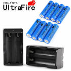 Sporting Goods - Ultrafire 18650 Battery 3000mAh Li-ion 3.7V Rechargeable Batteries for Torch USA