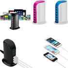 Внешний вид - Multi 6 USB Port Desktop Charger Rapid Tower Charging Station Power Adapter 30W