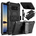 For Samsung Galaxy S9 Plus/S8 /Note 8 Case Belt Clip Holster Stand Armor Cover