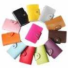 20 Slots Wallet Purse Mens Luxury Soft Leather  Business ID Credit Card Holder