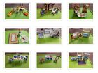 Playmobil kitchen bedroom bathroom living room table chairs  maid you choose