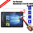 2Pcs Genuine Tempered Glass Screen Protector For Huawei Matebook E/M5/M5 Pro/T2