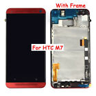 For HTC One M9 M8 M7 LCD Display Touch Screen Digitizer Assembly (With) Frame