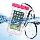 For iPhone X 5 6 6S 7 8 9 Plus Waterproof Pouch Phone Dry Bag Luminous Glow Case