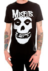 Misfits CLASSIC FIEND SKULL Horror Punk Rock T-Shirt NWT Licensed & Official  image