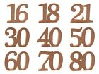 Free Standing MDF Wooden Coming Of Age Birthday Celebration Joint Numbers Crafts