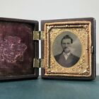 Antique Holmes Booth & Haydens Daguerrotype/Tintype/Ambrotype w/ Stamp