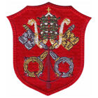 VATICAN ITALY SHIELD EMBROIDERED PATCH