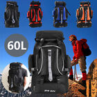 Large 60L Outdoor Sports Camping Hiking Backpack Trekking Travel Bag Waterproof
