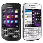 "3.1"" BlackBerry Q10-16GB WIFI QWERTY 8MP GSM AT T Unlocked Smartphone"