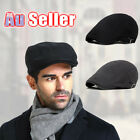 New Men's Newsboy Gatsby Cap Ivy Hats Golf Driving Flat Cabbies Beret Driver AU