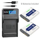 Kastar Battery LCD Charger for Sony NP-BD1 BC-CSD & Sony DSC-T70 Digital Camera