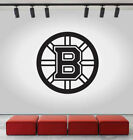 Boston Bruins Logo Wall Decal Ice Hockey NHL Sports Black Vinyl Sticker CG588 $24.0 USD on eBay