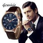 Genvivia Brand New Men's Watch Quartz Watch Waterproof Sport Military Watches Me