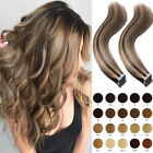 skin weft hair extensions - 8A Russian Remy Tape in 100% Human Hair Extensions Skin Weft Real Thick 40pcs US