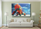 Blanka Street Fighter Gaming Large Poster Wall Art Print - A0 A1 A2 A3 Maxi