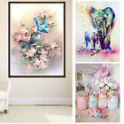 Elephant Birds 5D Diamond Painting Embroidery DIY Paint-By-Number Kit Decor