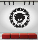 Florida Panthers Logo Wall Decal Ice Hockey NHL Sport Black Vinyl Sticker CG601 $38.0 USD on eBay