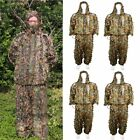 1/2/3/4 new 3D Leaf Ghillie Suit Camo Camouflage Clothing Hunting L / XL LOT MX