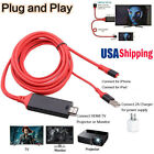 HDMI Video Adapter HDTV TV Cable for Lightning iPad iPhone X 6 6S 7 8 Plus to TV