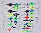 SHAD HEAD JIGS LURES LOT Choice 3/8 - 4 oz.  Saltwater Hooks FREE SHIP