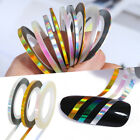 1mm 2mm 3mm Nail Art Striping Tape Line Adhesive Sticker Decals Decoration DIY