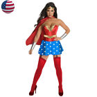 Adult Women Superhero Wonder Woman Costume Supergirl Outfit Fancy Dress