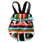 Adjustable Dogs Cats Canvas Pet Carrier Backpack Front Tote Carrier Net Bag