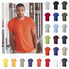 Hanes Mens Nano-T T-Shirt 100% Cotton Lightweight Tee Crew neck S-3XL - 4980