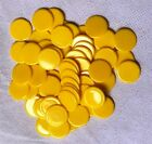 15mm or 22mm Opaque Counters Tokens Tiddly Winks Numeracy Plastic - 25 50 100
