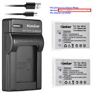 battery nb 5l - Kastar Battery Slim Charger for Canon NB-5L CB-2LX & Canon Digital IXUS 800 IS