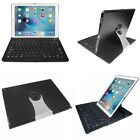 "360° Swivel Rotating Bluetooth Keyboard Case Smart Cover For iPad Pro 12.9"" 9.7"""