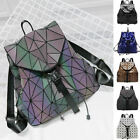 Shiny Reflective Drawstring Backpack Rucksack Daypack Bucket Bag Cute Purse