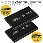 USB 3.0 / 2.0 SATA External HDD Black 2.5″ Hard Disk Drive Enclosure Case Caddy