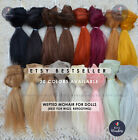 Mohair Straight to make Doll Hair Wigs Blythe BJD Monster Ever After High Reroot