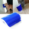 Cat Self Grooming Brush Comb Pet Dog Catnip Corner Self Groomer Massage Tool 1PC