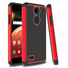 For LG Xpression Plus/K30 Hybrid Armor Shockproof Rubber Hard Phone Case Cover