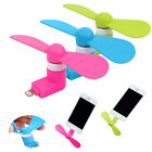 Portable CellPhone Mini Fan Cooling Cooler For iPhone 7 Plus Micro USB Android