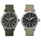 Timex Men's Expedition | Rugged Nylon Strap Black Dial 24 HR