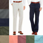 Men's Brooks Brothers 346 Flat Front Cotton Casual Dress Pants