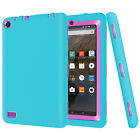"""Fasgion Shockproof Hybrid Rubber Skin Case Cover For Amazon Kindle Fire 7"""" 5th"""