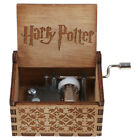 Harry Potter/Beauty and the Beast/Moana Engraved Wooden Hand-cranked Music Box
