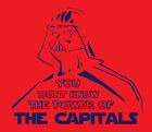 Darth Vader Washington Capitals shirt Star Wars Hockey Stanley Cup Playoffs NHL $20.0 USD on eBay