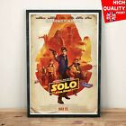 Solo A Star Wars Story IMAX Movie 2018 Poster Wall Art Decal | A4 A3 A2 A1 | £4.99 GBP on eBay
