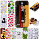 For LG Aristo 2 K8 K10 2018 Shockproof Soft Silicone Painted TPU Back Case Cover