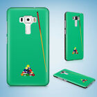 SNOOKER POOL TABLE 2 HARD CASE PHONE COVER FOR ASUS ZENFONE 2 5 6 $8.47 USD on eBay