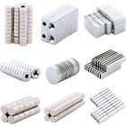 5-100pcs Fasteners Hardware Strong N35 Magnets Neodymium Cube Disc Ring Square