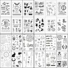 Внешний вид - Transparent Clear Silicone Rubber Stamp Cling Diary Scrapbooking Card DIY Decors