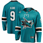 Fanatics Branded Evander Kane San Jose Sharks Teal Breakaway Player Jersey